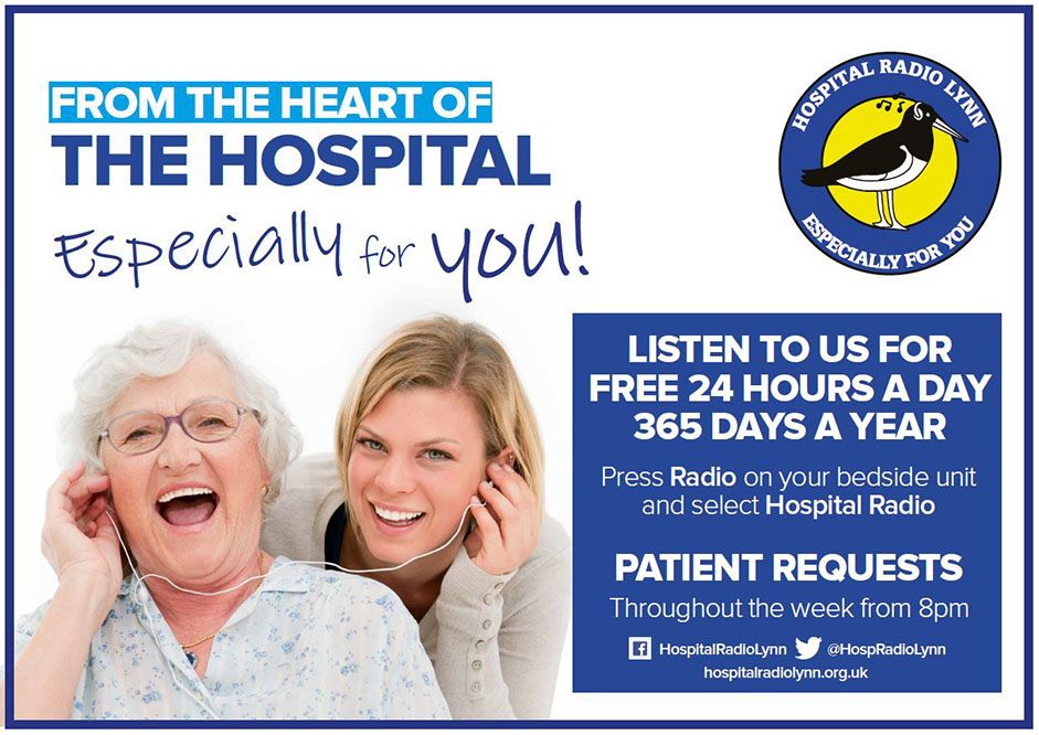 Hospital Radio promotional poster