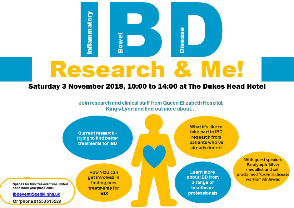 ibd event poster