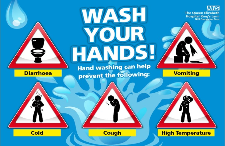 Wash Your Hands campaign poster