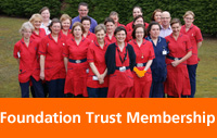 A group of Foundation Trust clinical staff