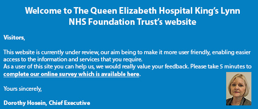 Welcome to the Queen Elizabeth Hospital NHS Foundation Trust Website
